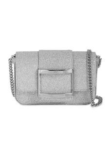Roger Vivier Micro Trés Vivier Glittered Bag