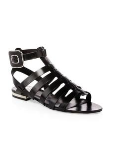 Roger Vivier Mini Buckle Gladiator Sandals
