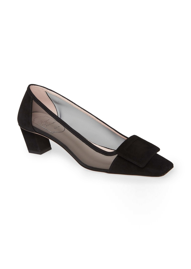 Roger Vivier Belle Vivier Buckle Pump (Women)