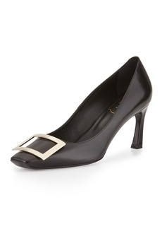 Roger Vivier Belle Vivier Trompette Leather 70mm Pumps