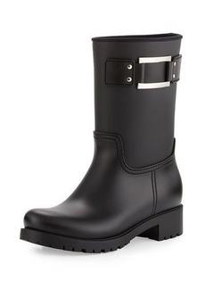 Roger Vivier Buckle Rubber Rain Boot