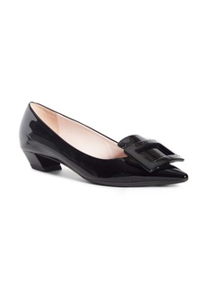 Roger Vivier Gommettine Buckle Pointed Toe Pump (Women)