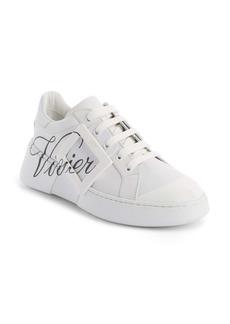 Roger Vivier Logo Lace-Up Skate Sneaker (Women)