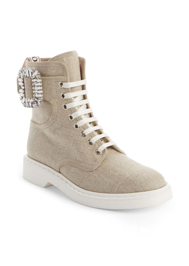 Roger Vivier Ranger High Top Boot (Women)