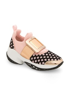 Roger Vivier Viv Buckle Slip-On Sneaker (Women)