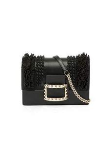 Roger Vivier Viv' Micro Knots/Fringes Shoulder Bag