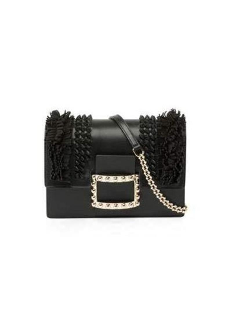 Roger Vivier Roger Vivier Viv  Micro Knots Fringes Shoulder Bag 72f8d18c2983c