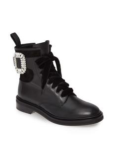 Roger Vivier Viv Rangers Buckle Boot (Women)
