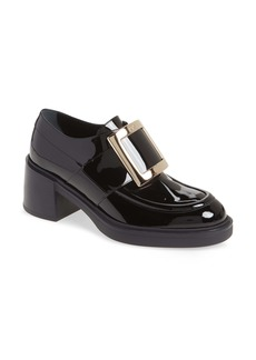 Roger Vivier Viv Rangers Buckle Loafer (Women)