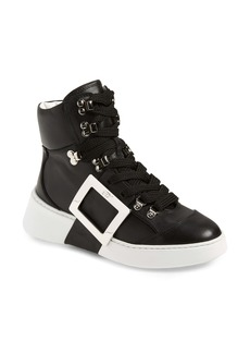 Roger Vivier Viv Skate Mounty High Top Sneaker (Women)
