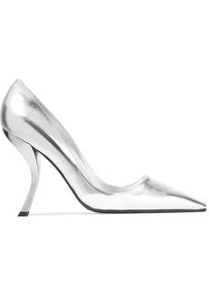 Roger Vivier Woman Metallic Leather Pumps Silver