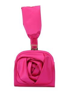 Roger Vivier Rose Bracelet Clutch Bag  Hot Pink