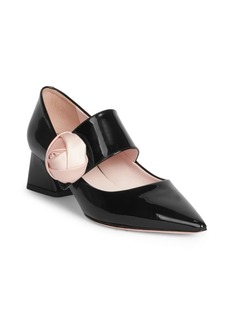 Roger Vivier Rose Mary Jane Pumps