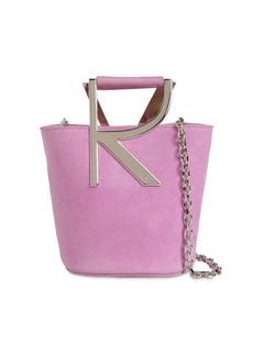 Roger Vivier Rv Suede Bucket Bag