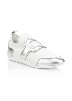 Roger Vivier Sporty Viv Low-Top Sneakers