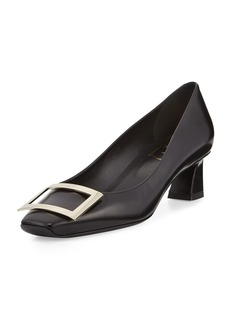 Roger Vivier Trompette Leather 45mm Pumps