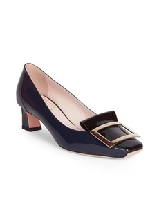 Roger Vivier Trompette Leather Pumps