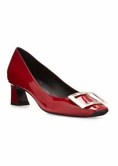 Roger Vivier Trompette Patent 45mm Pumps  Red