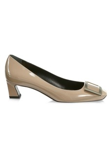 Roger Vivier Belle Vivier Trompette Patent Leather Pumps