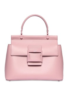 Roger Vivier Viv Cabas Leather Top Handle Bag