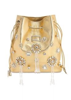 Roger Vivier Viv Pocket Grand Embellished Bag