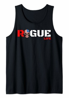 American Patriotic Rogue Armed Forces Military Rebel Workout Tank Top