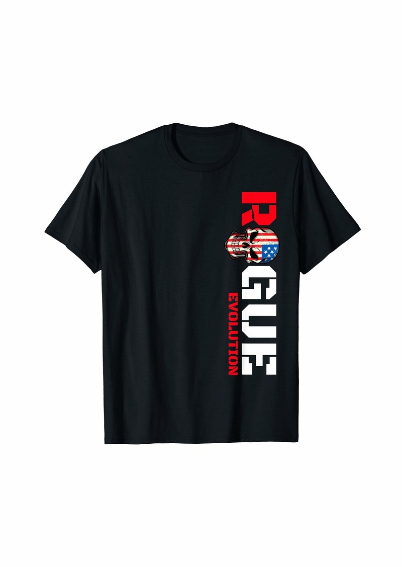Rogue Life Slogan T shirt For Men Women Kids Cool Rebel Tee T-Shirt
