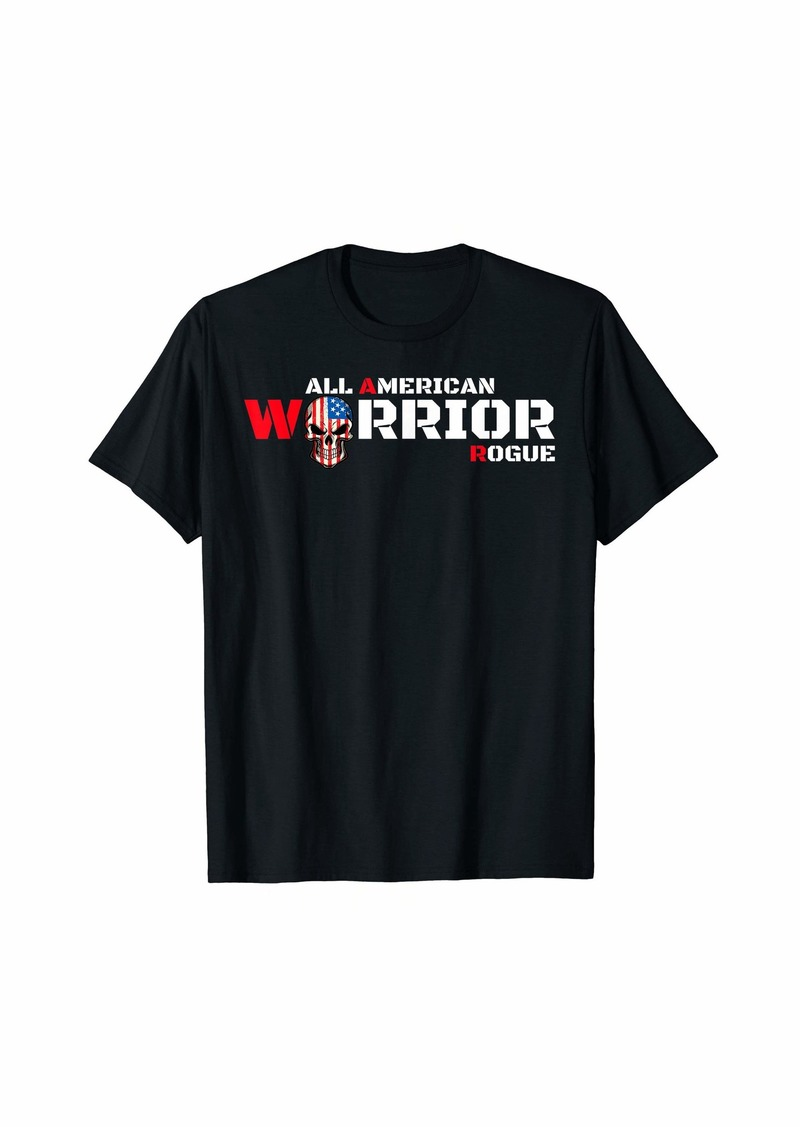 Armed Forces Rogue Warrior Soldier Gaming Tough Guy Military T-Shirt