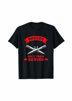 DND Shirt DND Apparel D20 Dice Rogue Shirts Men T-Shirt