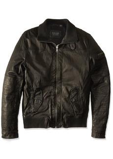 ROGUE Men's New Zealand Lamb Leather Avaitor Jacket  M