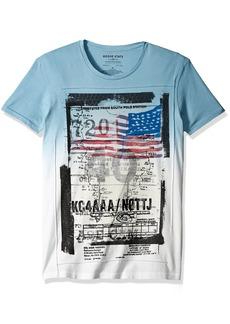 Rogue Men's Short Sleeve Graphic Road Map T-Shirt