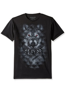ROGUE Men's Short Sleeve Wolf Graphic T-Shirt