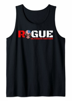 Rogue Armed Forces Military Tough Guy Soldier Warrior Patriotic Tank Top