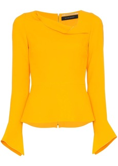 Roland Mouret Boronia asymmetric-neck top