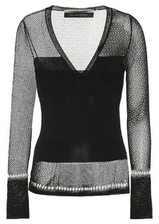 Roland Mouret Epping knit top