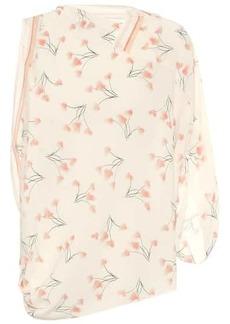 Roland Mouret Exclusive to Mytheresa – Hopkins floral seersucker blouse