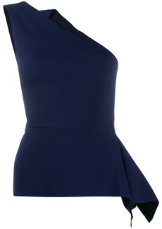 Roland Mouret Olympia contrast top
