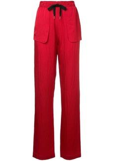 Roland Mouret patch pocket trousers