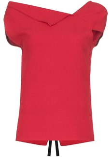Roland Mouret Raywell origami top