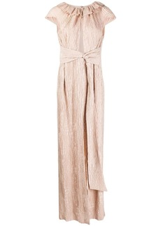Roland Mouret Rila creases effect gown