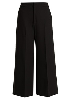 Roland Mouret Costello high-rise wool culottes