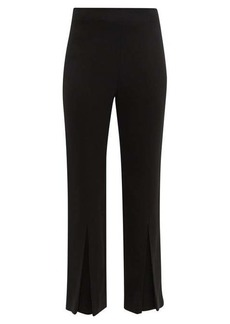 Roland Mouret Salthill pleated-cuff trousers