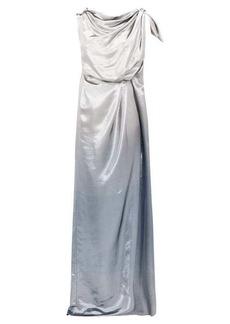 Roland Mouret Silvabella silk-blend lamé gown