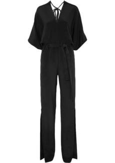 Roland Mouret Woman Millbridge Silk Jumpsuit Black