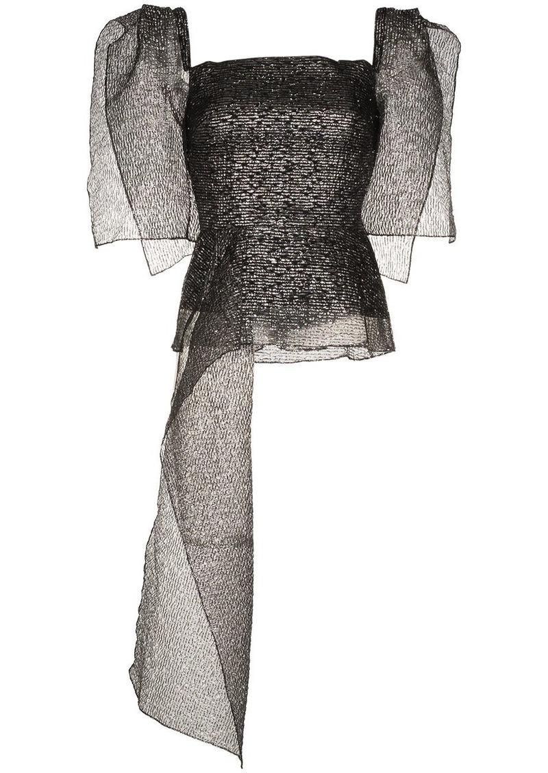 Roland Mouret Starling asymmetric top
