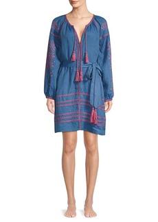 Roller Rabbit Amalia Embroidered Tunic Dress