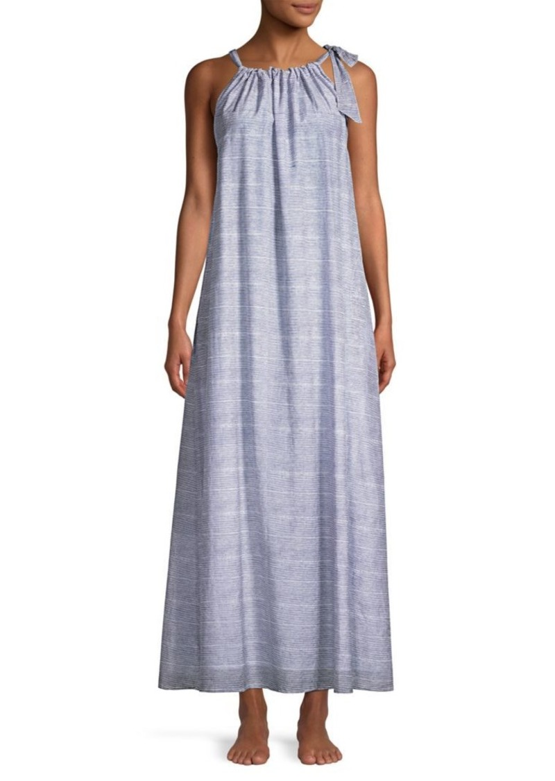 260bb23fa3 On Sale today! Roller Rabbit Capellini Silk-Blend Tied Maxi Dress