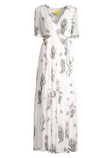 Roller Rabbit Condesa Bouquet Gertrude Maxi Dress