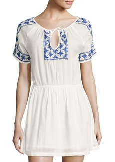 Roller Rabbit Deauville Carmel Cotton Dress