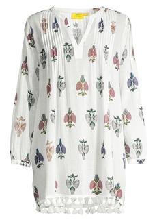 Roller Rabbit Klokke Flower Ziva Cotton Tunic